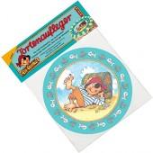 Tortenaufleger Pirat Pit Planke für Kindergeburtstag