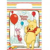 6 Partytüten Winnie Pooh - Sweet Tweets