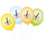 8 Luftballons Zoo & Zootiere
