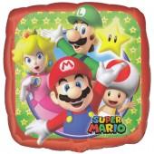 Folienballon Super Mario