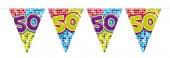 Wimpelkette für den 50. Geburtstag