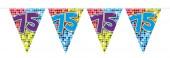 Wimpelkette für den 75. Geburtstag