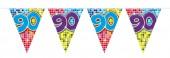 Wimpelkette für den 90. Geburtstag