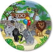 8 Teller Zoo & Zootiere