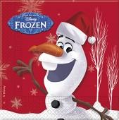 20 Servietten Frozen: Olaf - Winterparty