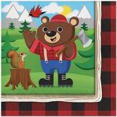16 Servietten Lum-Bear Jack