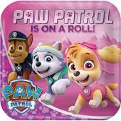 8 Teller Paw Patrol Pink