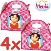 4 Geschenkboxen Heidi und die Berge