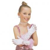 Pinke Prinzessin Handschuhe