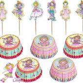 48-teiliges Muffin-Set Prinzessin Lillifee
