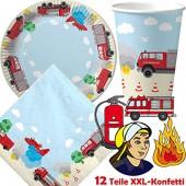 37-teiliges Spar-Set: Feuerwehr