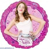 Folienballon Violetta - Ohne Helium