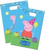 8 Partytüten Peppa Pig