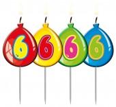 4 Zahlenkerzen #6