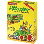 20 Kinder-Pflaster Traktor