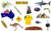 54-teiliges XXL-Konfetti Australien