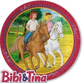 8 Teller Bibi und Tina