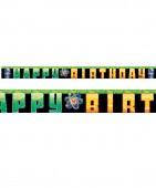 Happy Birthday Banner Verrückter Forscher