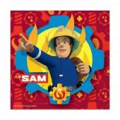 20 Servietten Feuerwehrmann Sam