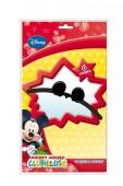 6 Mickey Mouse-Ohren + Schleifen