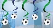 5 Deko-Wirbel Fußball II