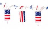 Laternen-Girlande USA / Amerika
