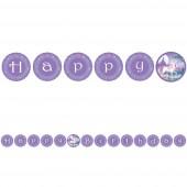 Happy Birthday Banner Fantasy Einhorn