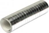 Luftschlangen in Metallic-Silber