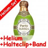 Folienballon Champagner - Mit Helium