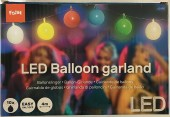 LED Luftballon Girlande, 4m