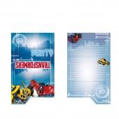 8 Einladungskarten Transformers