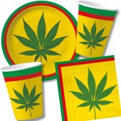 41-teiliges Spar-Set: Reggae & Cannabis