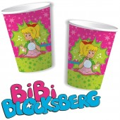 8 Becher Bibi Blocksberg