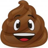 8 Teller Poop Emoji