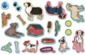 60-teiliges XXL-Konfetti Hunde