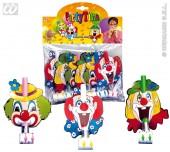 6 x Luftrüssel Lachender Clown