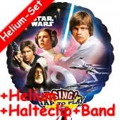 Singender Folienballon Star Wars - Mit Helium
