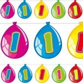 Wimpelkette #1 im Luftballon-Design