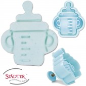 Präge-Ausstechform Babyflasche