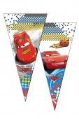 6 dreieckige Geschenktüten Cars