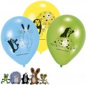 6 Luftballons Der kleine Maulwurf