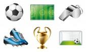 6 Sticker und Tattoos Fußball II