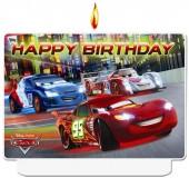 Geburtstagskerze Cars