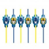8 Trinkhalme Transformers