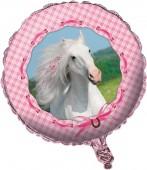 Folienballon Weißes Pferd