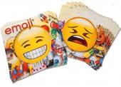 20 Servietten Emoji