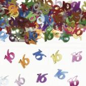 Konfetti für den 16. Geburtstag