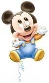 Folienballon Baby Micky Maus