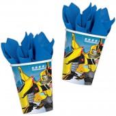 8 Becher Transformers