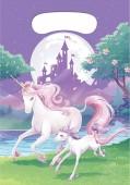 8 Partytüten Fantasy Einhorn